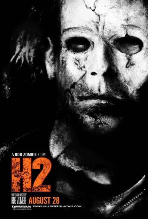 Halloween 2 Horror Movie Poster