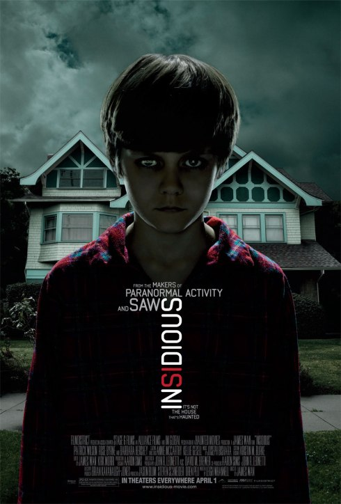 Insidious Horror Movie Poster