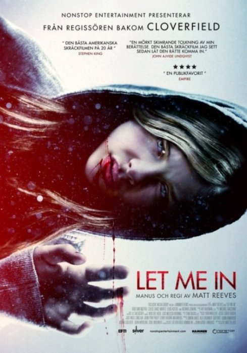 Let Me In Horror Movie Poster