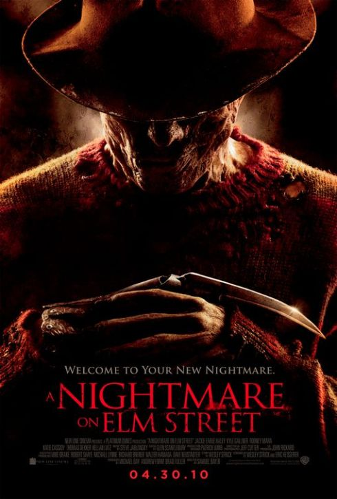 Nightmare on Elm Street Horror Movie Poster