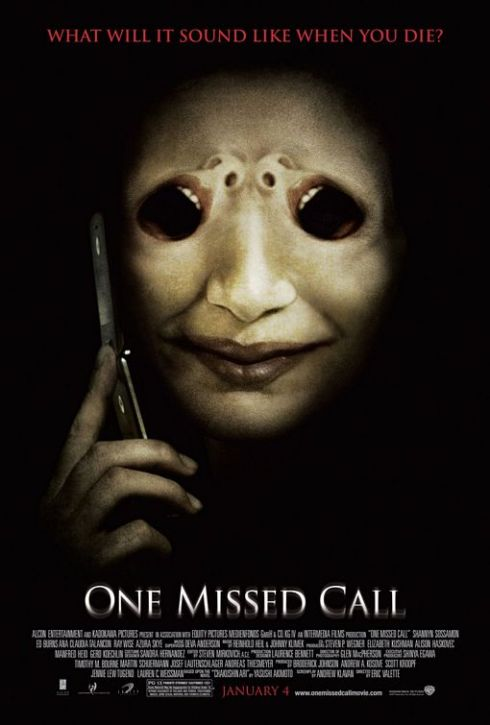 One Missed Call Horror Movie Poster