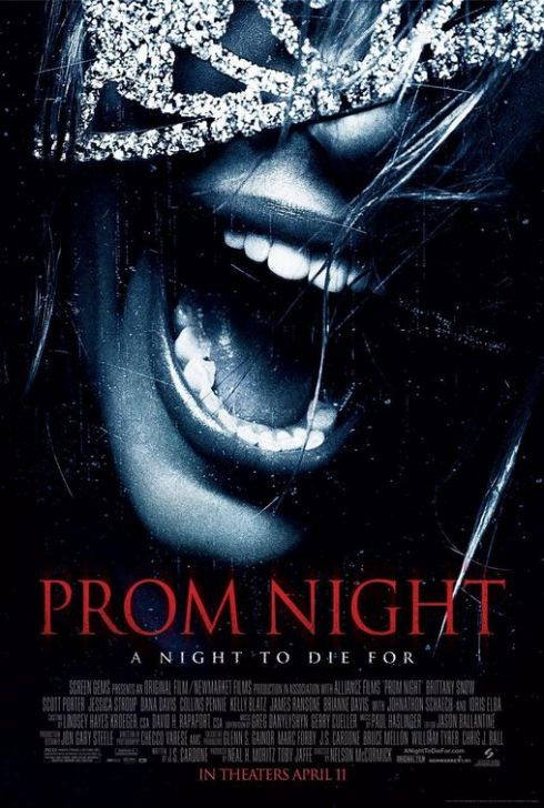 Prom Night Horror Movie Poster