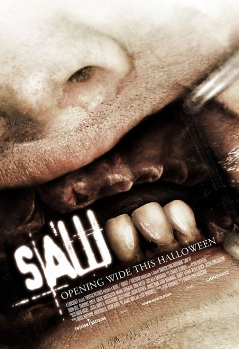 Saw III Horror Movie Poster