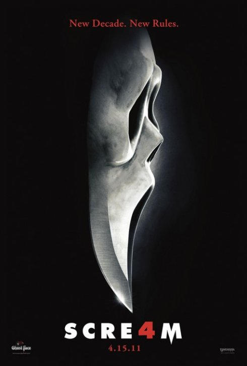 Scream 4 Horror Movie Poster