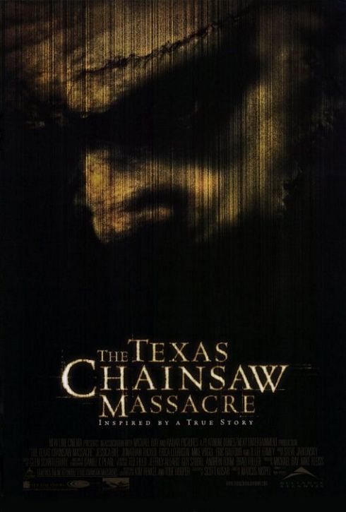 Texas Chainsaw Massacre Horror Movie Poster