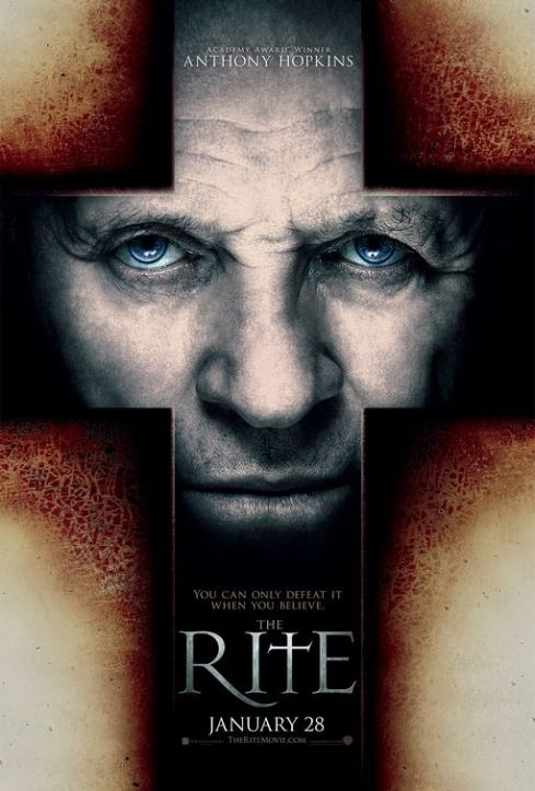 The Rite Horror Movie Poster