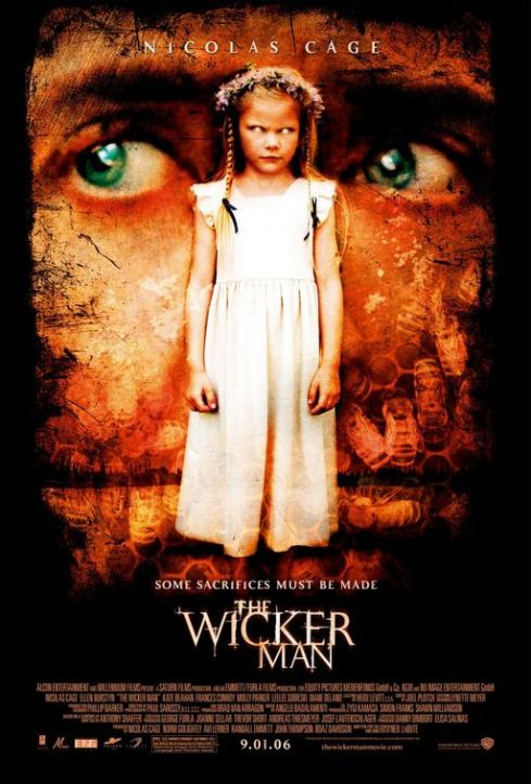 The Wicker Man Horror Movie Poster
