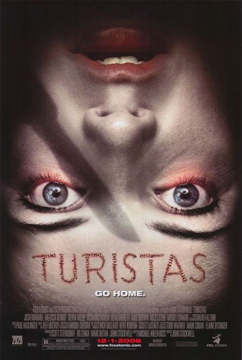 Turistas Horror Movie Poster